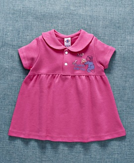 Half Sleeves Frock for Baby Girls fashion wear